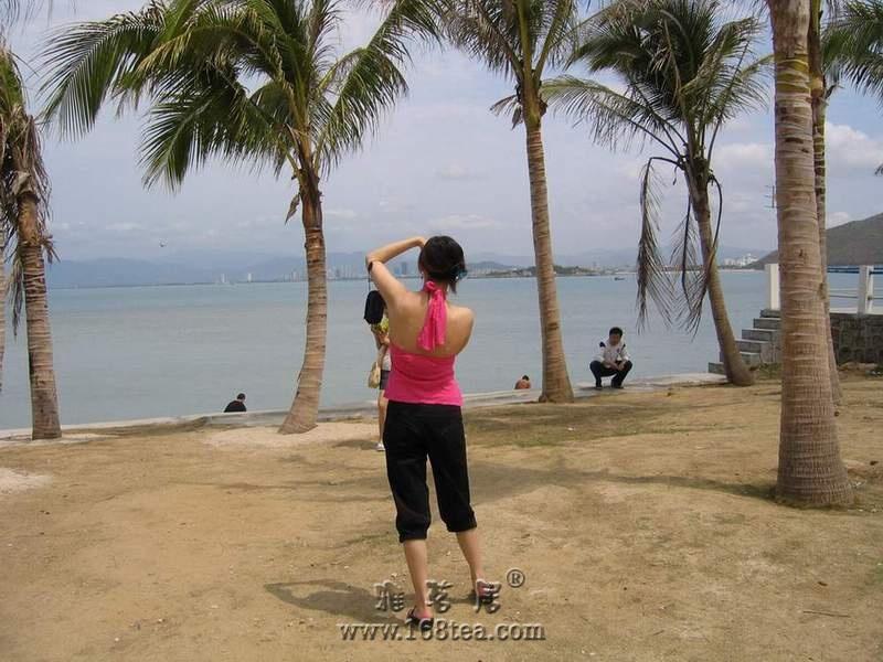 三亚的海滩