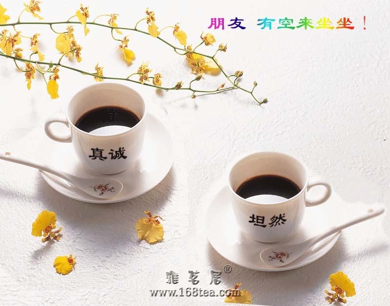 欢迎新朋友汀洲茶屋光临雅茗居!