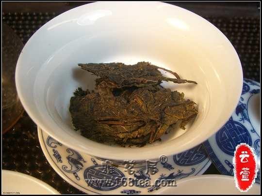茶家寨原生态之---5051古法七子饼