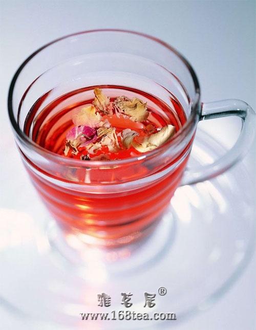 冰清玉洁花草茶的美丽物语