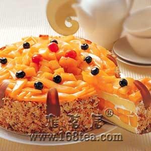 蛋糕、水果永远的好朋友