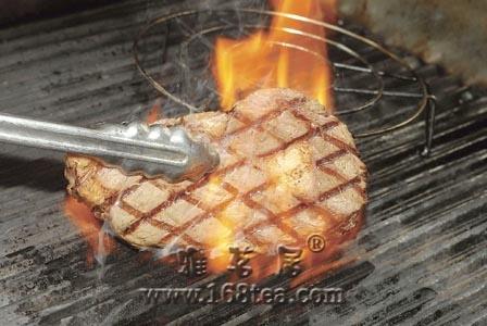 火山石炉烤牛排