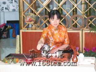 [原创]08年日本学员高级茶艺师班考试图片