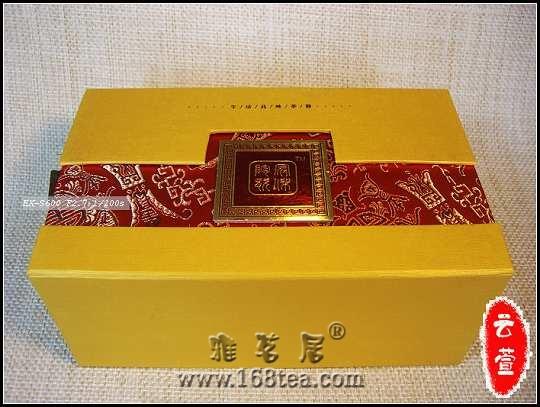 青花牡丹普洱茶具