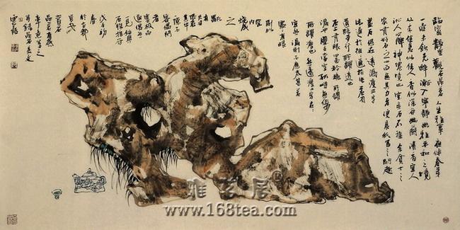 新年开篇--史云龙的茶境书画