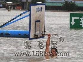 一张足以震撼!实拍洪水中的中国南方