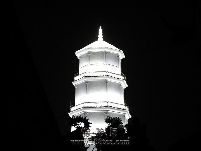 [原创]夜晚的白塔与乌塔