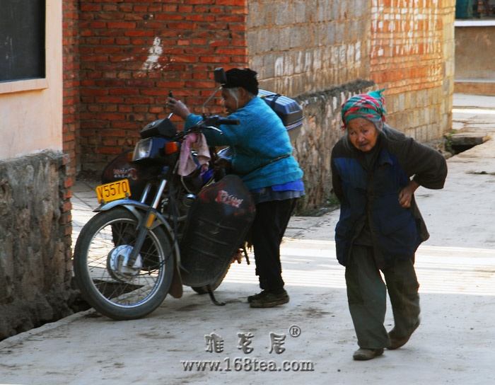 老人与摩托