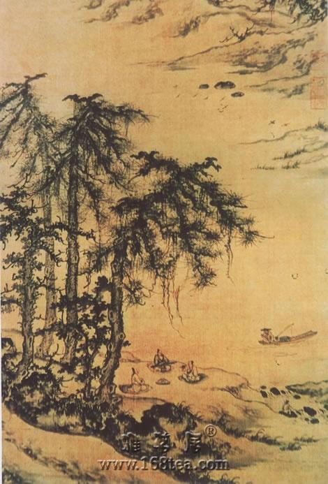 禅画音乐《江上垂钓图》