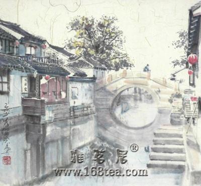 (转载)江南烟雨四月中 ---观季仁葵书画展