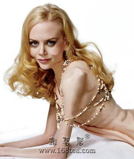 时尚美女 骨感模特 瘦如干尸 骨感美女 图