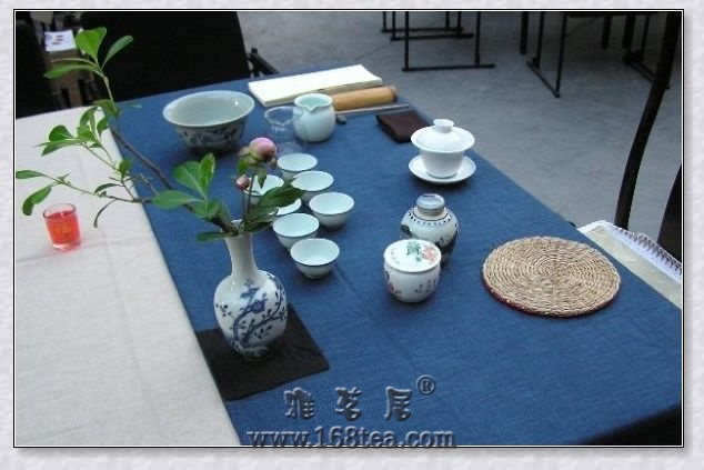 一组茶席设计图片欣赏