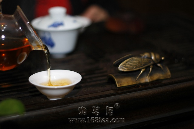 2009年雅茗居最后一泡茶