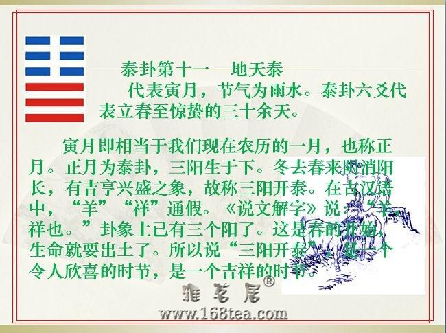 立春、命门与泰卦(图)