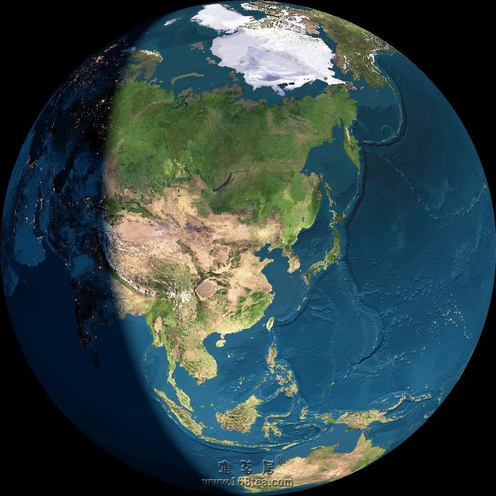 中国地表植被卫量图!