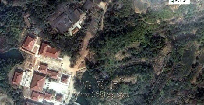 从卫星鸟瞰武夷山  蔚为壮观的天心永乐禅寺