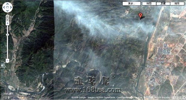 从卫星鸟瞰武夷山 荡气回肠九曲溪