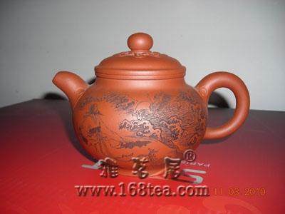 欣赏一下董岳峰的茶壶