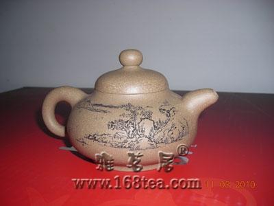 我收藏的羊建鹏的茶壶