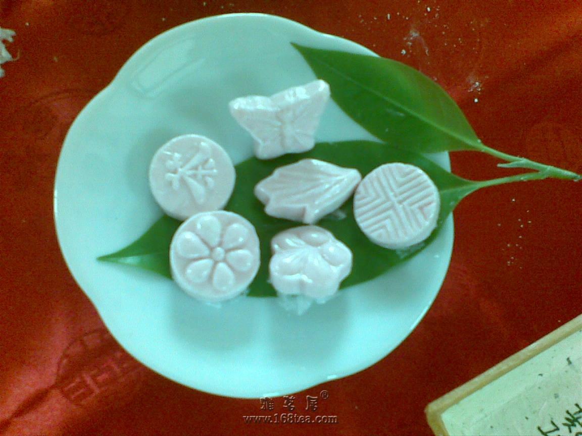 韩国茶道课自己动手做的小茶食