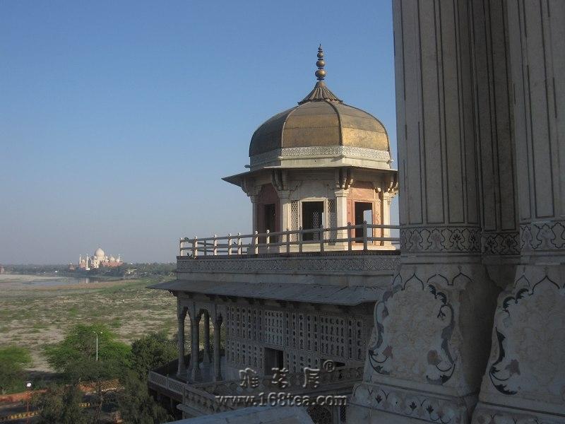印度之旅-埃格拉堡