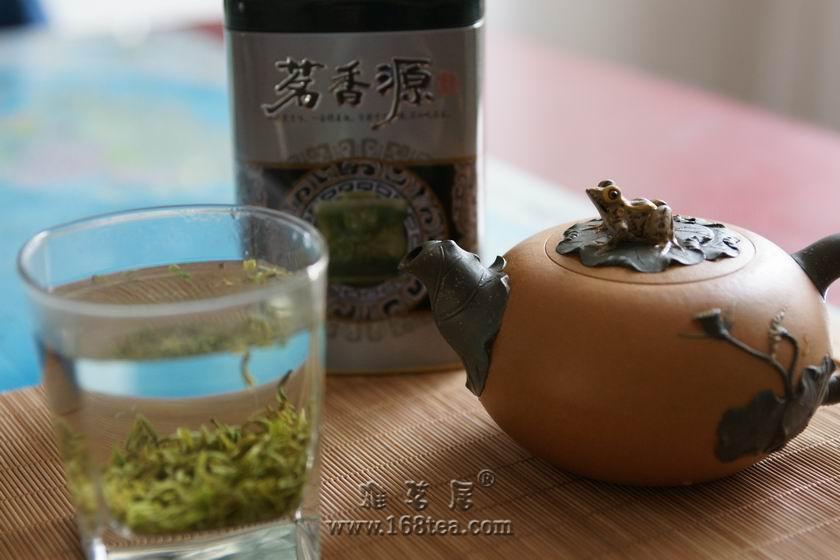 朋友刚发来的新茶,共享