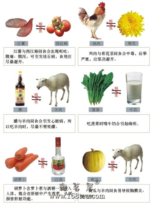 科学搭配食物利于健康长寿(转载)