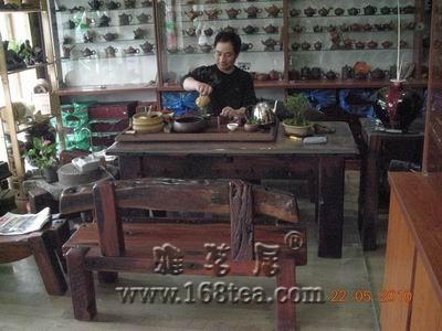 朋友的宜陶居紫砂茶具店