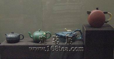 无锡博物院馆藏紫砂壶也有添加金属氧化物的