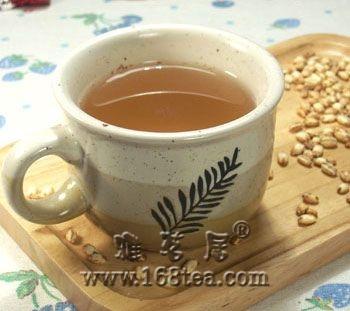 迷上大麦茶