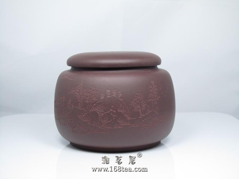 老紫泥茶叶罐