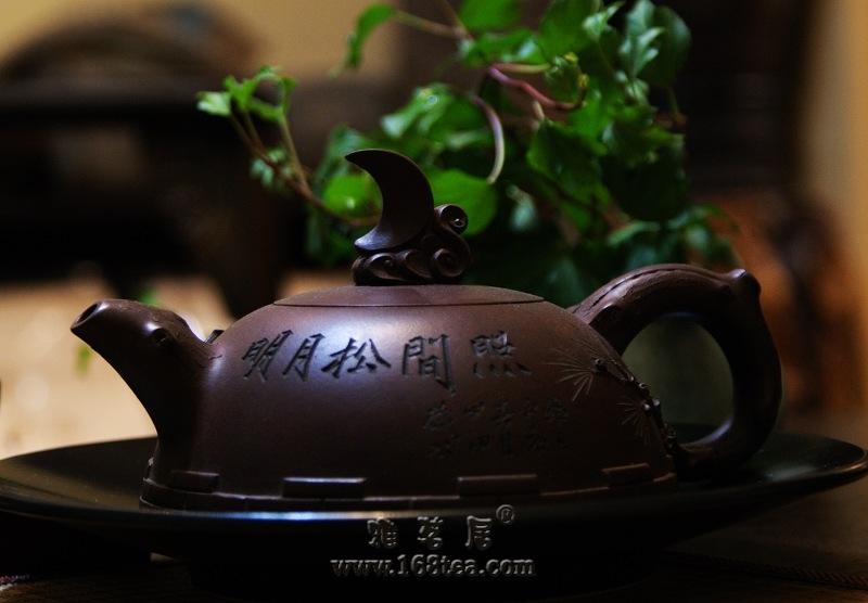 明月松间照,咱也准备泡茶
