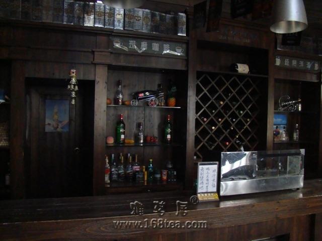 庐山风景5之老别墅酒吧