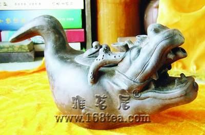 龙头鱼尾壶