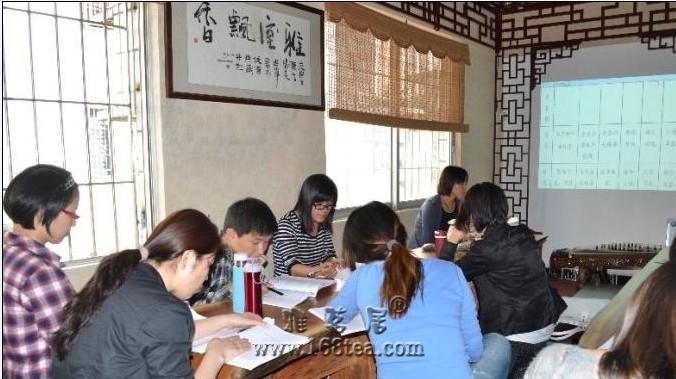 华农大第十期评茶员培训班学习进行时