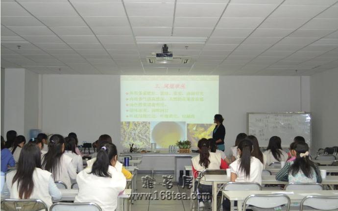 乐茶网茶艺培训讲师赴华南索尼总公司作茶艺兴趣班讲座