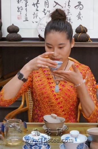 来自深山的普洱茶