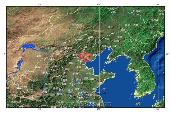 6.18   天津与唐山交界凌晨3点发生4.0级地震