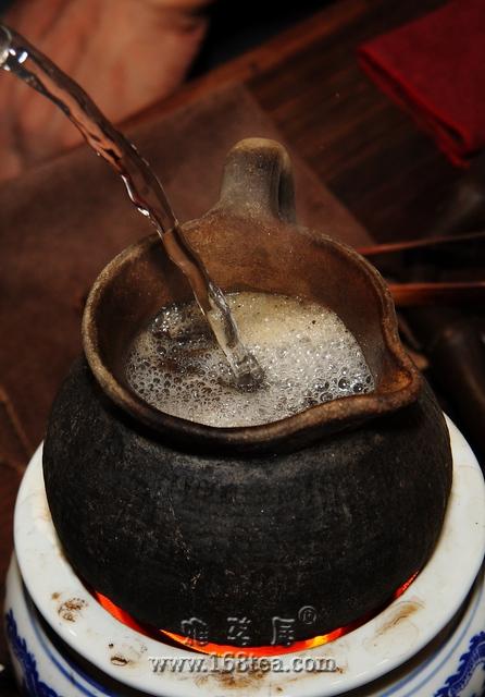 再上一泡2012年立秋后的煎茶
