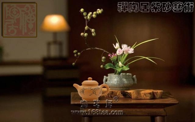 终朝一掬茶,相依静我心。