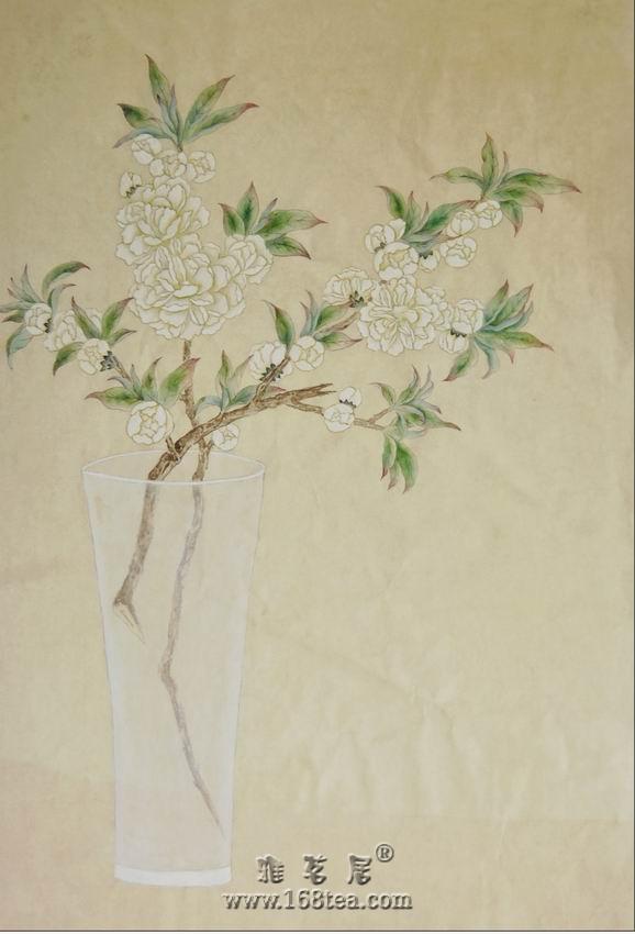 花草工笔画-暗香