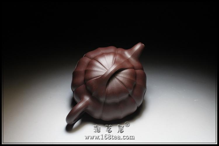【紫砂壶】线圆菱花壶