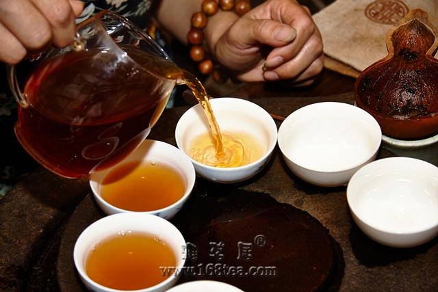 2013年雅茗居霜降煎茶