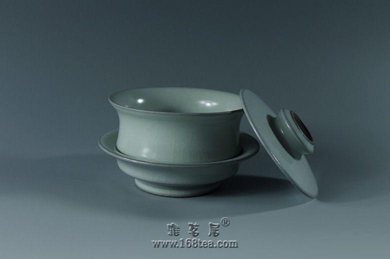 【三陶轩】徐瑞鸿汝官窑作品展――汝官窑盖碗
