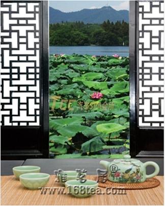 瓷器茶具玉质青釉花鸟茶壶