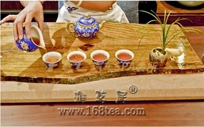 黑茶的泡法•功夫泡饮法