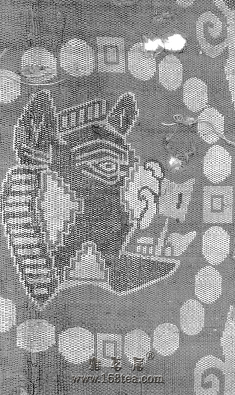 千年前的中西合璧体现在一块绸上