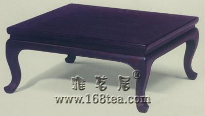 紫檀方炕桌清初