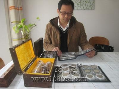 萧山小伙:收藏300多块老银元 最爱传统银元(图)