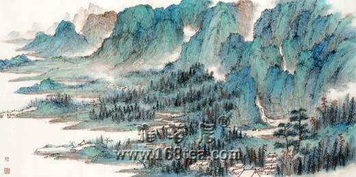 现代水墨先驱吴学让中国水墨展序